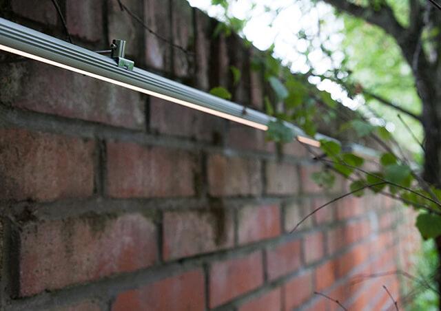 Ứng dụng LED thanh nhôm chiếu sáng sân vườn thật độc đáo